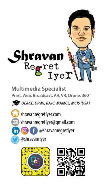 Shravan US Business Card size
