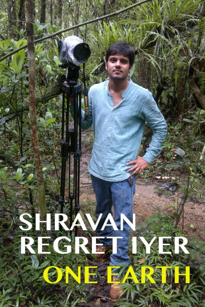 Shravan Regret Iyer_One Earth Poster